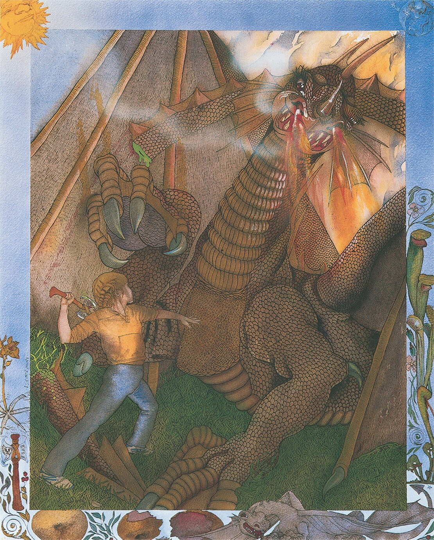 Princess Amanda and the Dragon, Tales of the Kingdom Chapter 10